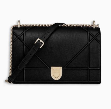 2887190dd747 ... Christian Dior Shoulder Bags Calfskin 3WAY Chain Plain Party Style  Shoulder Bags ...