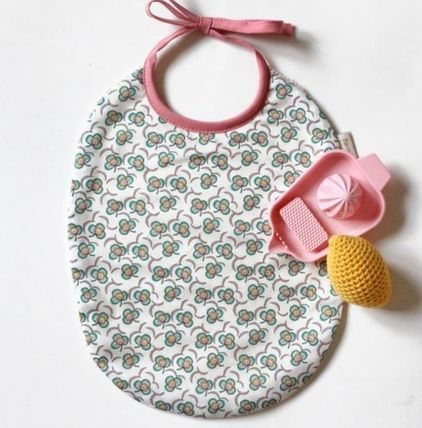 Baby Girl Bibs & Burp Cloths