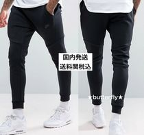Nike Sweat Street Style Plain Skinny Fit Pants