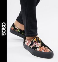 ASOS Flower Patterns Street Style Loafers & Slip-ons