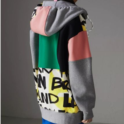 Burberry Hoodies Unisex Blended Fabrics Street Style Long Sleeves Cotton 6