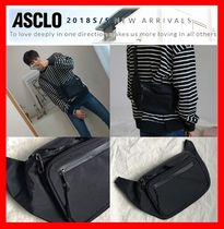 ASCLO Casual Style Unisex Street Style Hip Packs