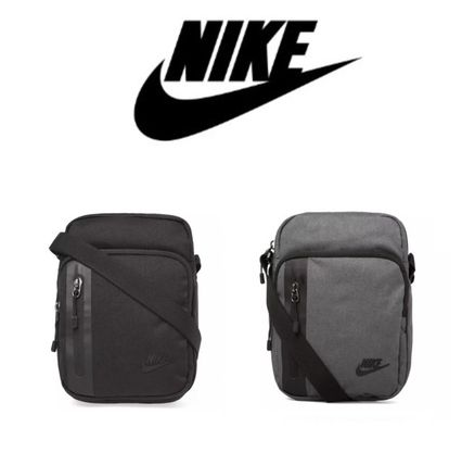 bcd10f0772 ... Nike Messenger   Shoulder Bags Unisex Street Style Plain Messenger    Shoulder ...