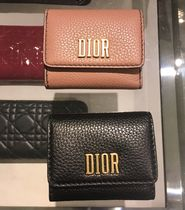 Christian Dior Calfskin Folding Wallets