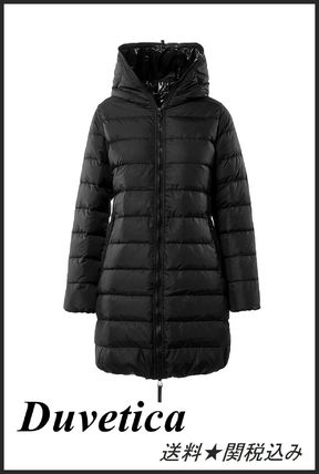 Plain Medium Elegant Style Down Jackets