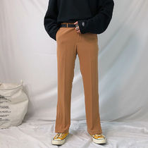 Slax Pants Street Style Plain Slacks Pants