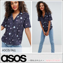 ASOS Star Casual Style Short Sleeves Shirts & Blouses