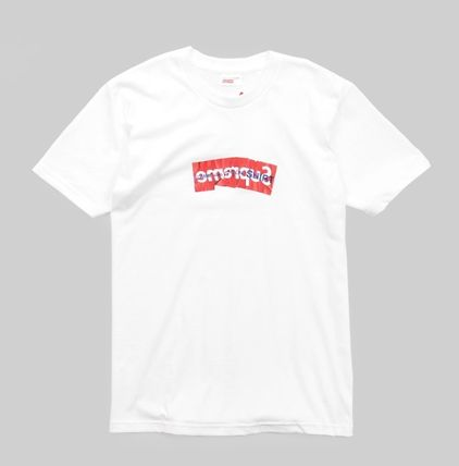 Supreme More T-Shirts Street Style Collaboration T-Shirts 2
