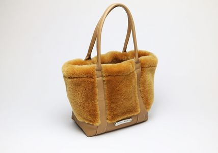 Unisex Leather Totes