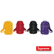 Supreme Street Style Collaboration Backpacks