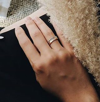 Shop Mejuri Casual Style Chain 14k Gold Rings By N Mtl Buyma