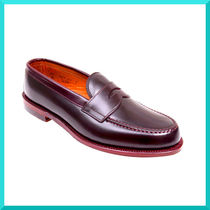 ALDEN Loafers Plain Leather U Tips Loafers & Slip-ons