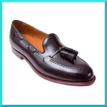 ALDEN Loafers Tassel Plain Leather U Tips Loafers & Slip-ons