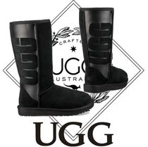UGG Australia CLASSIC TALL Casual Style Suede Boots Boots