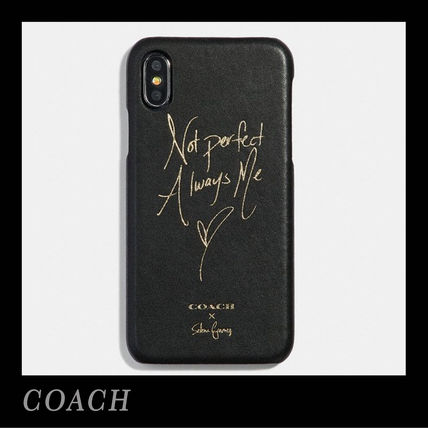 Collaboration Leather Smart Phone Cases