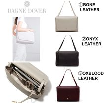 DAGNE DOVER Casual Style Plain Leather Shoulder Bags