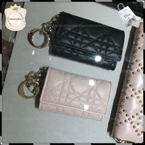 Christian Dior Leather Keychains & Bag Charms