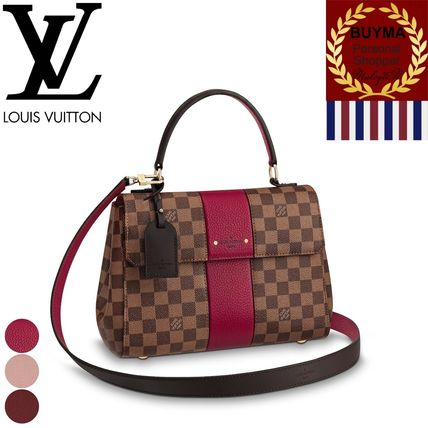... Louis Vuitton Handbags Monogram 2WAY Plain Leather Elegant Style Bold  Handbags ... cf030052549d2