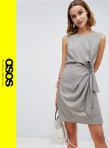 ASOS Other Check Patterns Casual Style Sleeveless Dresses