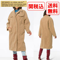 Off-White Casual Style Street Style Coats