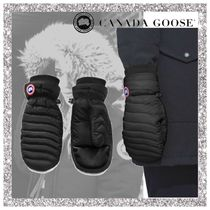 CANADA GOOSE Nylon Plain Smartphone Use Gloves