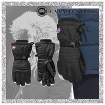 CANADA GOOSE Casual Style Nylon Smartphone Use Gloves