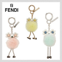 FENDI Fur Keychains & Bag Charms