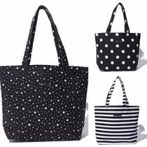 Agnes b Star Casual Style Totes