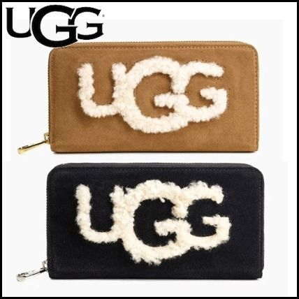 Suede Long Wallets