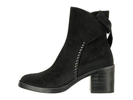 UGG Australia Ankle & Booties Round Toe Casual Style Suede Street Style Plain Block Heels 14