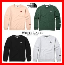 THE NORTH FACE Unisex Street Style Long Sleeves Sweatshirts