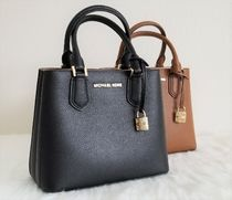 Michael Kors ADELE bag Casual Style 2WAY Plain Leather Bold Shoulder Bags