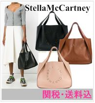 Stella McCartney Faux Fur A4 Plain Totes
