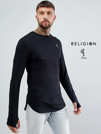 Religion Long Sleeve Skull Street Style Long Sleeves Long Sleeve T-Shirts