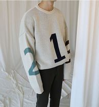 ASCLO Long Sleeves Oversized Knits & Sweaters