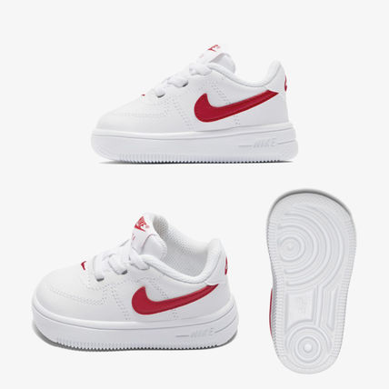 new arrivals eacb5 4ec10 Nike AIR FORCE 1 2018-19AW Unisex Baby Girl Shoes (905220-101)