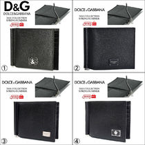 Dolce & Gabbana Leather Folding Wallets