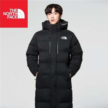 ... THE NORTH FACE Down Jackets Unisex Street Style Long Down Jackets ... 3eca39969