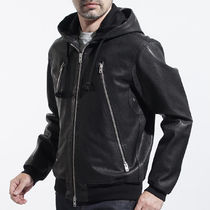 Maison Martin Margiela Short Leather Biker Jackets