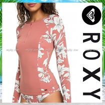 ROXY Flower Patterns Tropical Patterns Beach Cover-Ups