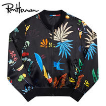 Ron Herman Short Tropical Patterns Casual Style Unisex Handmade