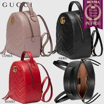 GUCCI GG Marmont Backpacks