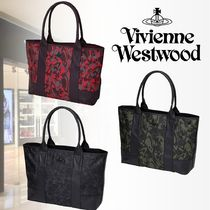 Vivienne Westwood Camouflage A4 Leather Totes