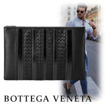 BOTTEGA VENETA Leather Clutches
