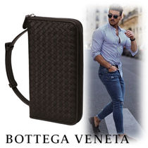 BOTTEGA VENETA Bag in Bag Leather Clutches