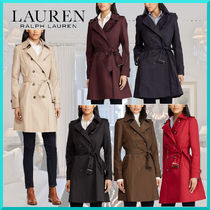 Ralph Lauren Casual Style Plain Medium Trench Coats