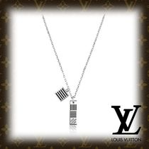 Louis Vuitton DAMIER Other Check Patterns Chain Necklaces & Chokers