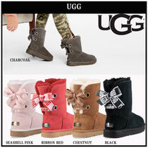 UGG Australia Casual Style Suede Plain Boots Boots