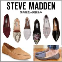 a07b44be3239 Steve Madden Glen Patterns Casual Style Suede Plain Bold Slip-On Shoes