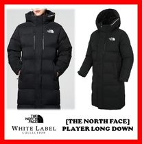 THE NORTH FACE Unisex Street Style Long Down Jackets